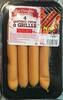 4 Saucisses cuites à griller épicée - Produit
