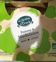 Spécialité de pomme madeleine - Produit - fr