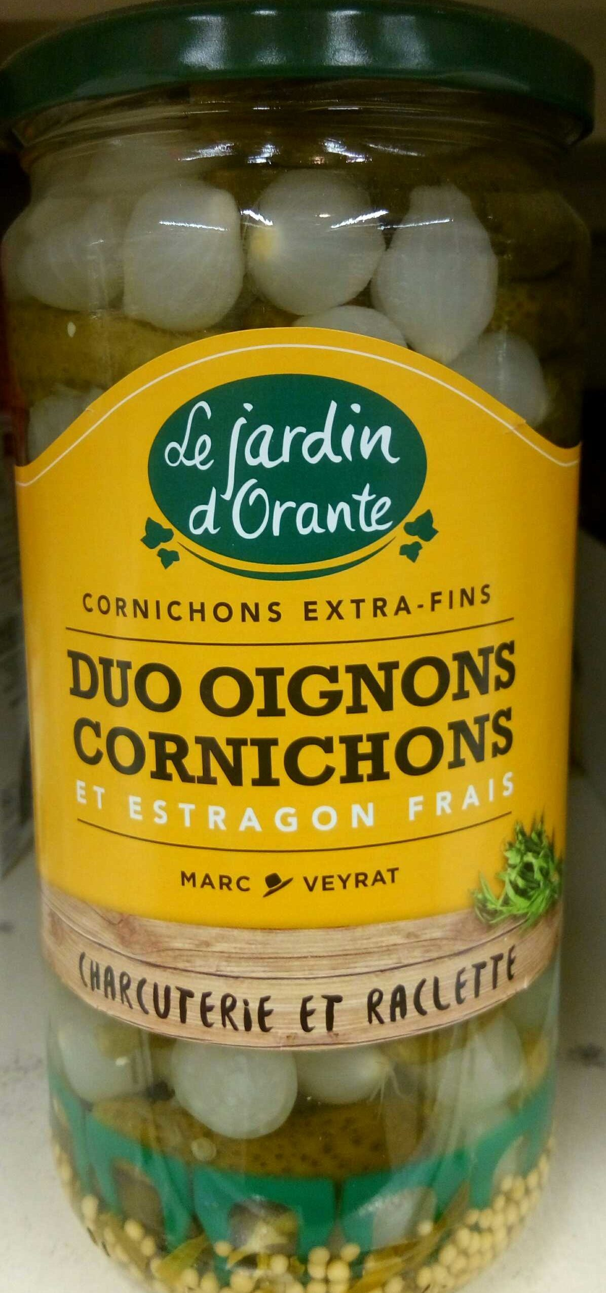 Duo oignons et cornichons - Product