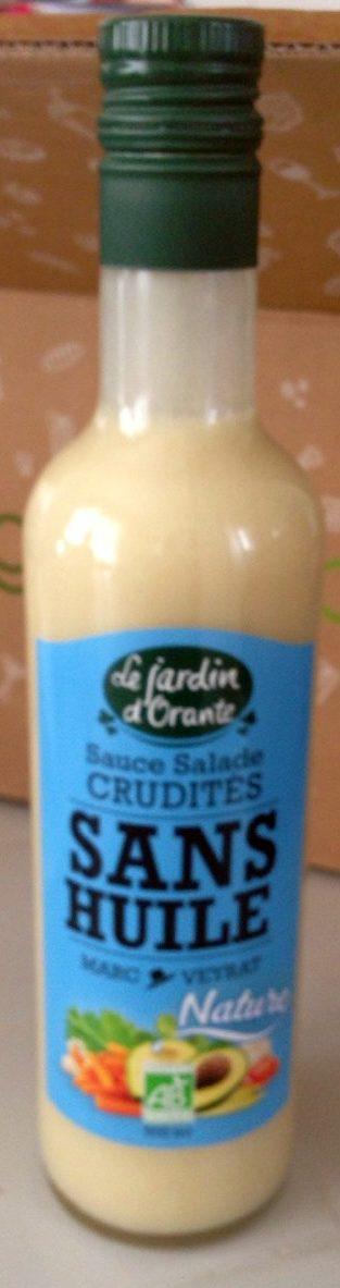Sauce crudites sans huile - Product