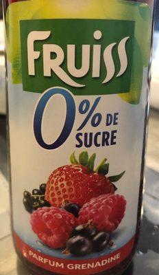 Sirop grenadine 0% - Produit