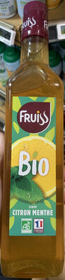 Fruiss Bio citron Menthe - Product