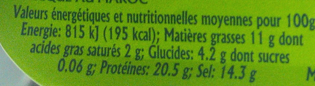Filets d'anchois roulés aux câpres à l'huile d'olive - Voedigswaarden