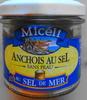 Anchois au sel, sans peau, sel de mer - Product