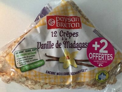 Crêpes à la Vanille de Madagascar - Produit - fr