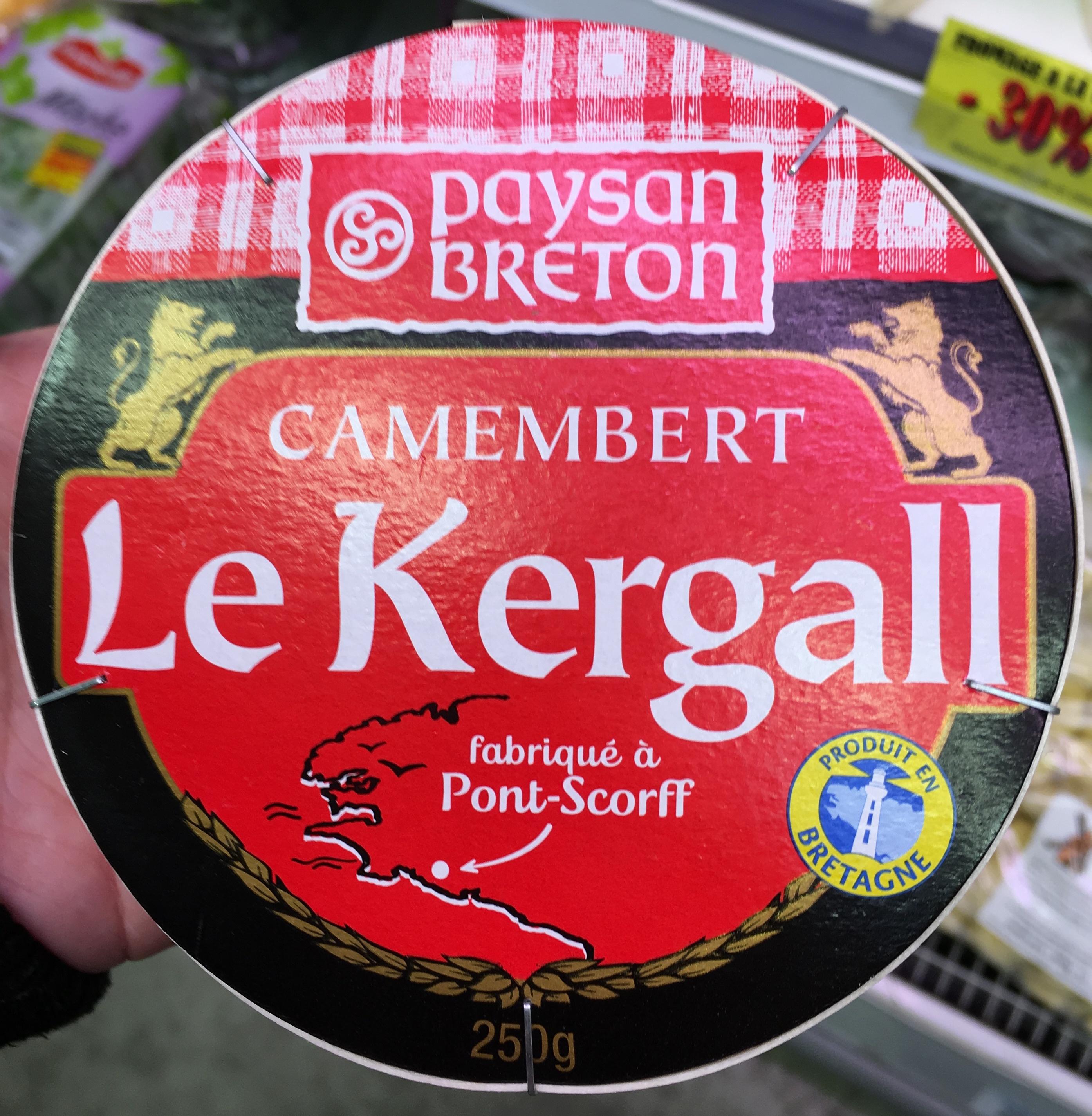 Camembert Le Kergall (23 % MG) - Produit - fr