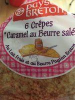 Crêpes Caramel au beurre salé - Informations nutritionnelles