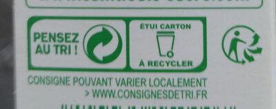 Sucre en poudre - Instruction de recyclage et/ou information d'emballage - fr
