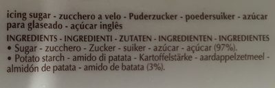 Sucre Glace - Ingrediënten - fr