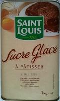 Sucre Glace à pâtisser - 1 kg - Product - fr