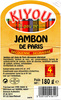 Jambon de Paris - Product