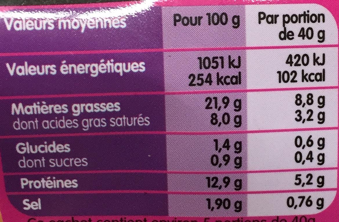 La Cocktail saveur Bacon - Nutrition facts - fr