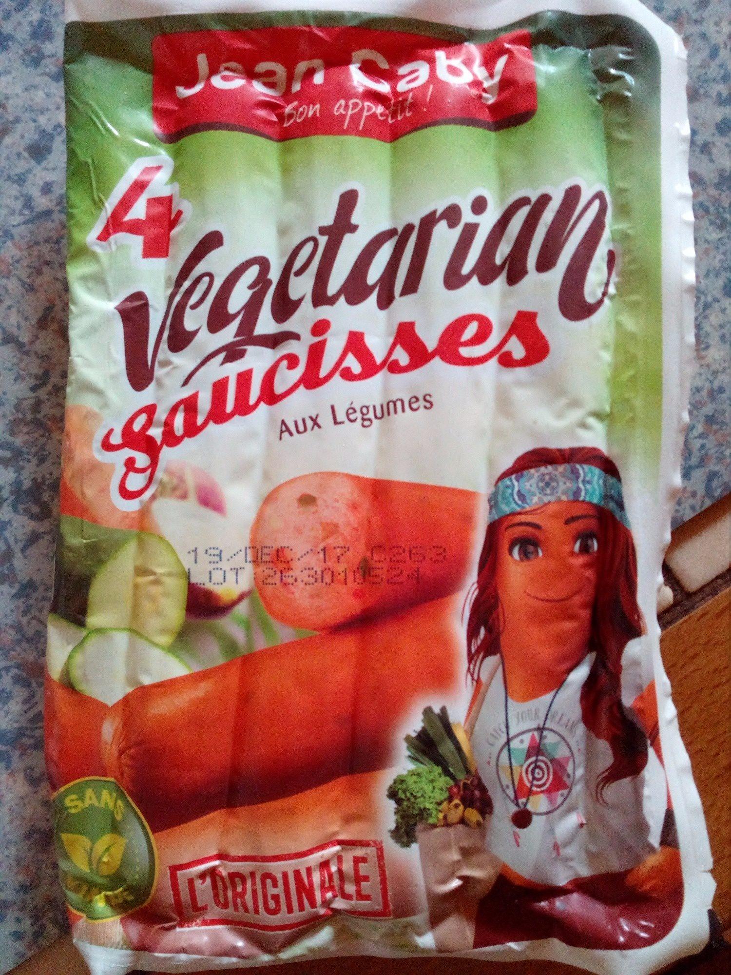Saucisses aux légumes - Produit - fr