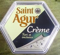 Saint Agur Crème (25 % MG) - Produit - fr