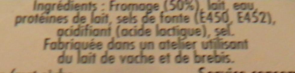 Saint Agur Crème (25 % MG) - Ingrédients - fr
