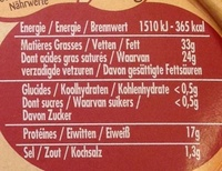 Saint Albray ® (33% MG) Format Familial - Voedingswaarden - fr