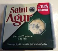 Saint Agur (+15% gratuit) - Produit - fr