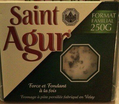 Saint Agur (format familial) (33% MG) - Produit - fr