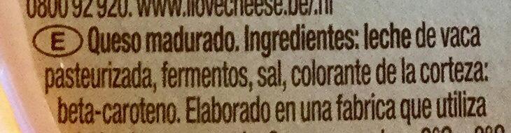 Saint Albray - Ingredientes