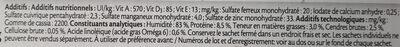 Émincés en gelée (au boeuf, au poulet, au saumon, au thon) - Informazioni nutrizionali - fr