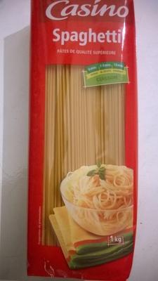 Spaghetti - pâtes de qualité supérieure - Produit