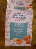 Crêpes fourrées au cheddar saveur noix - Product
