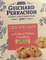 Croustillants aux éclats de violette cristallisés 50 g Guichard Perrachon - Product