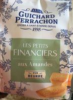 Les petits financiers axu amandes - Produit - fr