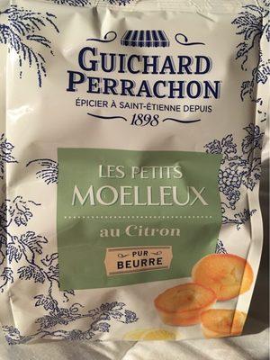 Les petits moelleux au citron pur beurre - Produit - fr