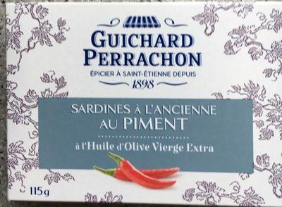 Sardines à l'ancienne au piment à l'huile d'olive vierge extra - Produit - fr