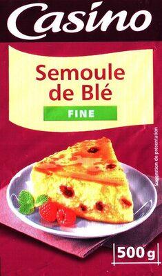 Semoule de blé fine - Produit - fr