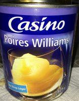 Poires Williams au sirop léger - Produit - fr