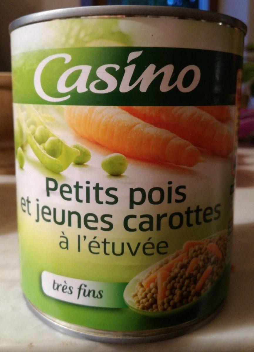 Petits pois très fins et jeunes carottes à l'étuvée - Produit