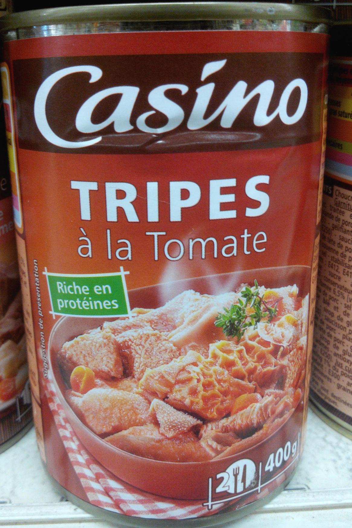 Tripes à la Tomate - Product - fr