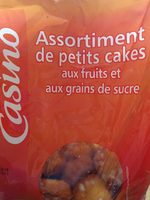 Petits cakes aux fruits - Product