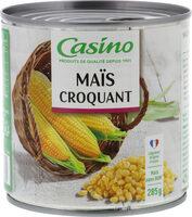 Maïs croquant - Produit