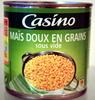 Maïs doux en grain sous vide - Product