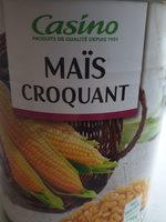 Maïs croquant - Product