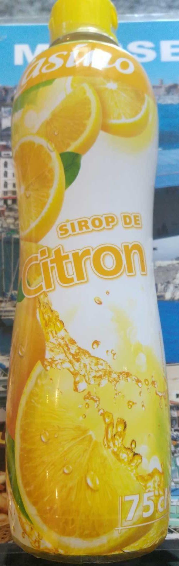 Sirop de Citron - Produit - fr