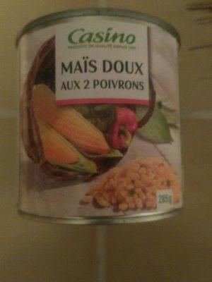 Maïs doux aux 2 poivrons - Product