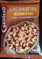 Cacahuètes Grillées à sec Salées et aromatisées - Product - fr