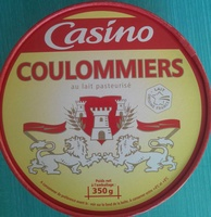Coulommiers au lait pasteurisé - Product - fr
