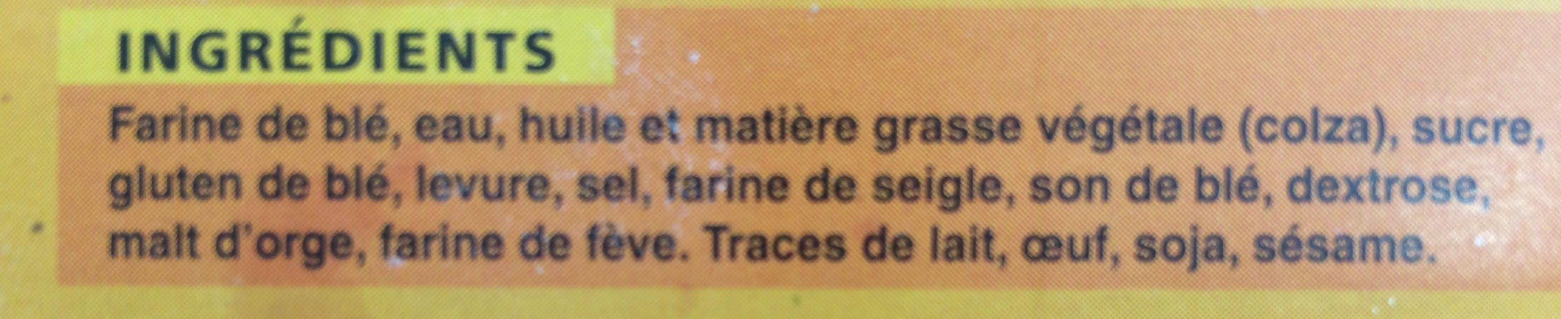 Chapelure - Ingrédients - fr