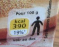 Chapelure - Informations nutritionnelles - fr
