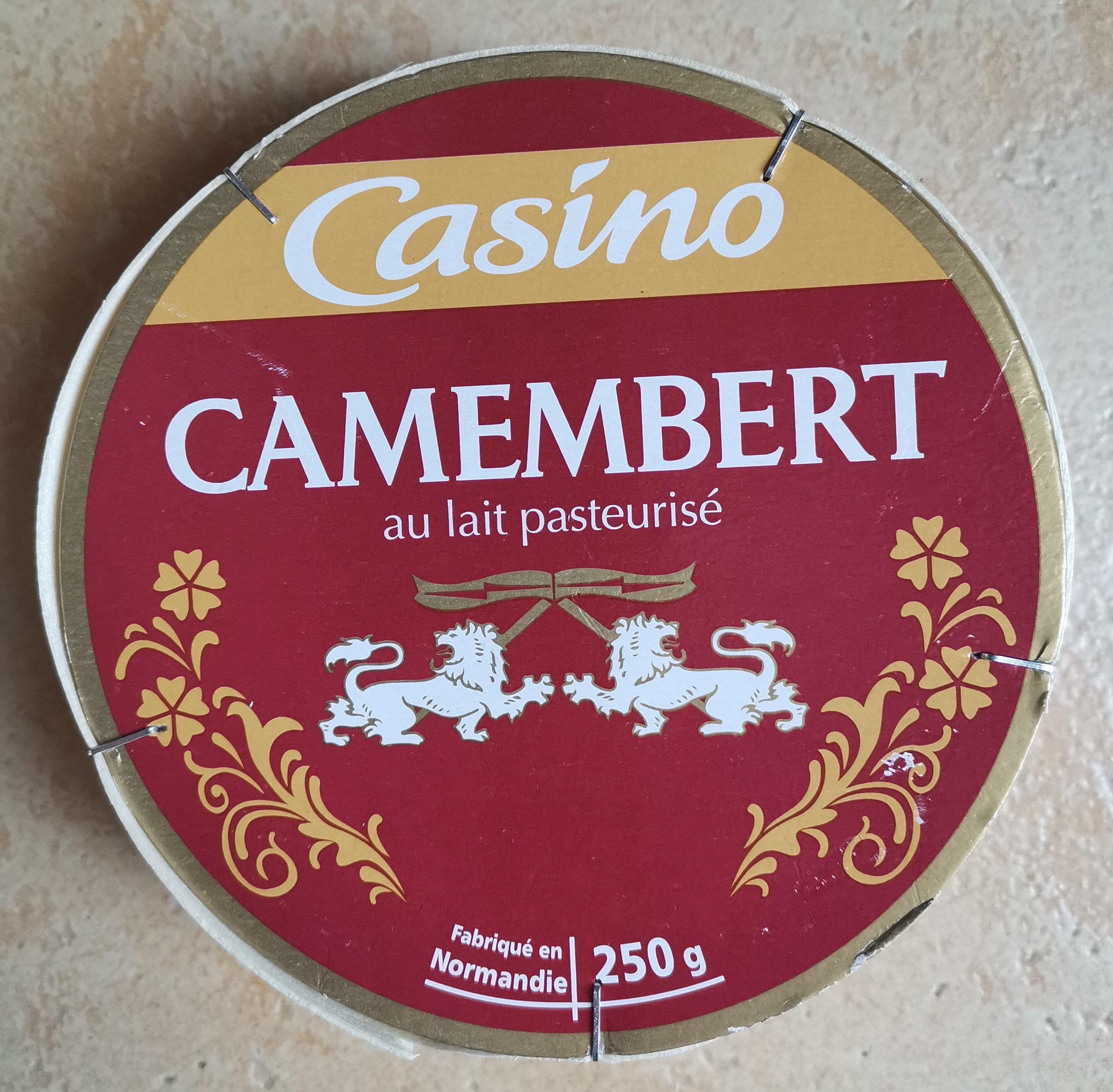 Camembert au lait pasteurisé - Product - fr