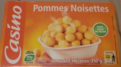 Pommes noisettes sans huile de palme - Produit