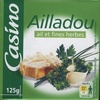 Ailladou, ail et fines herbes (24 % MG) - Product