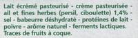 Ailladou Ail et fines herbes - Ingrediënten - fr