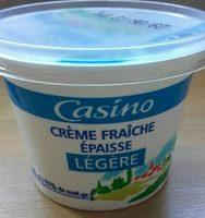 Crème fraîche épaisse légère 15% de mat. gr. - Product - fr