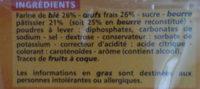 Quatre-Quarts aux oeufs frais - Ingredients